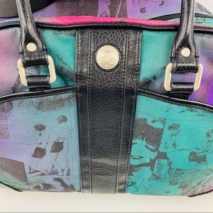 70cf1fe4ed39 Lululemon Black Purple Green Colorful Gym Bag